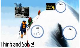 think & solve