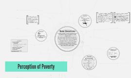 Perception of Poverty
