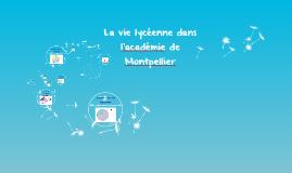 La vie lycéenne dans l'académie de Montpellier