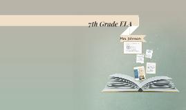 7th Grade ELA