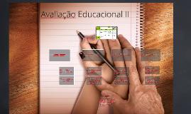 Avaliação Educacional II