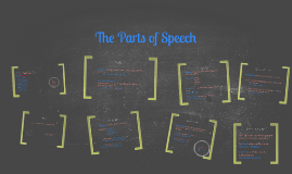 The Parts of Speech