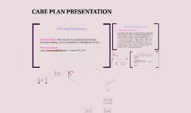 CARE PLAN PRESENTATION