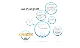 More on paragraphs