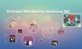 Entrada Wordpress Verónica BC
