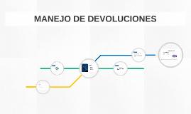 MANEJO DE DEVOLUCIONES