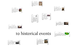 10 historical events.