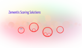 Zementis Scoring Solutions