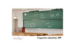 Propuestas educativas 2014