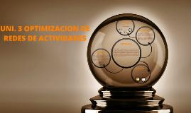 Copy of OPTIMIZACION DE REDES DE ACTIVIDADES