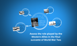 Contribution of the Western Allies