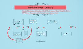 Modern Europe - Units 1 & 2