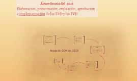 Acuerdo 004 del 15 de marzo de 2013