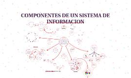 Copy of COMPONENTES DE UN SISTEMA DE INFORMACION