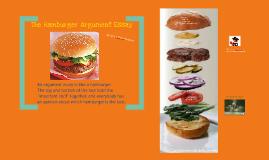 Copy of Copy of Hamburger Argument Essay