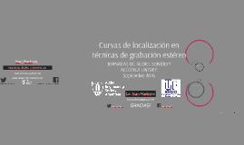 Curvas de Localización en técnicas de grabación Estéreo - UNTREF Jornadas