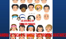 LOS AVATARES EN EDUCACIÓN PRIMARIA