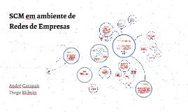 SCM em ambiente de Redes de Empresas