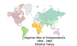 Algerian War of Independence