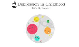 Depression in Childhood