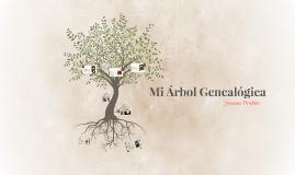 Mi Árbol Genealógica