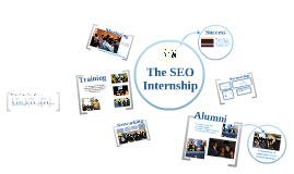 The SEO Internship