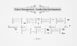 IO559 - Talent Management wk3
