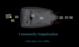 Sociology 145: Community Organization