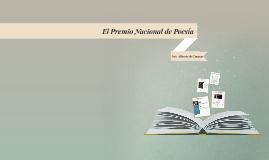 El Premio Nacional de Poesía