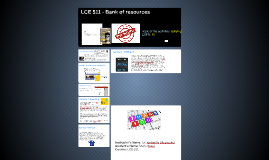 LCE 511 - Bank of resources