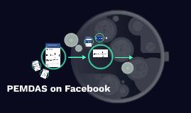 PEMDAS on Facebook