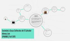 Sociedad y Cosas Culturales de El Salvador