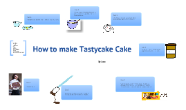 How to Make a Tastycake Cakw