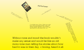 The Tone and Mood of The Kite Runner by: Khaled Hosseini