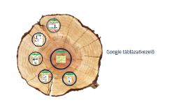 Google táblázatkezelő