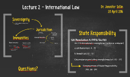 Lecture 2 - International Law