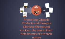 Promoting: Organic Products
