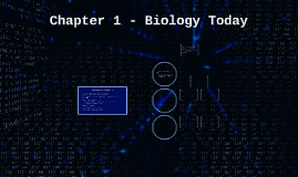 Chapter 1 - Biology Today