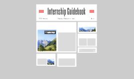 Internship Guidebook