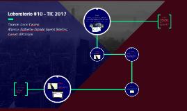 Laboratorio #10 - TIC 2017