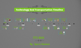 Technology And Transportation Timeline