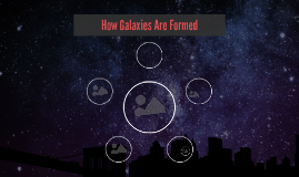 How Galaxies Are Formed