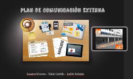 Plan de Comunicación Externa