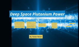 Deep Space Plutonium Power
