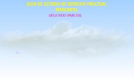 GUIA DE ESTUDIO DE DERECHO PROCESAL MERCANTIL