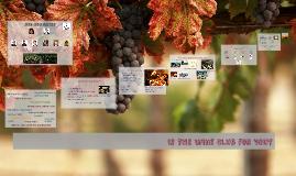 Intro to Wine Club