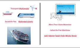 Copy of Calcul Du Fret Maritime