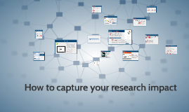 How to capture your research impact