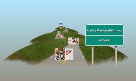 Lahi / Pangkat-Etniko