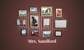 Mrs. Sandford